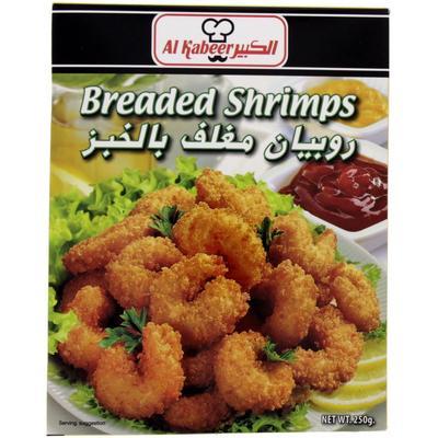 روبيان بالقصماط جملة Breaded Shrimp Jumla