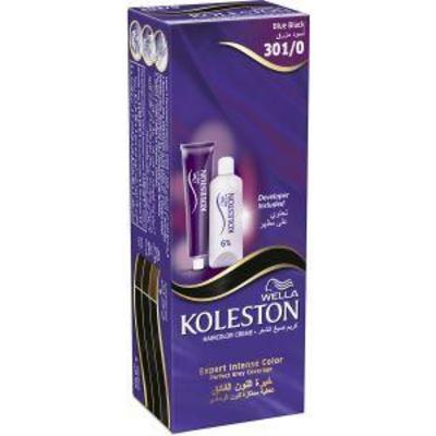1 قطعة من صبغة شعر دائمة أسود مزرق ويلا كوليستون جملة 1 Piece Of Color Cream Semi Kit Blue Black 301 0 Wella Koleston Jumla