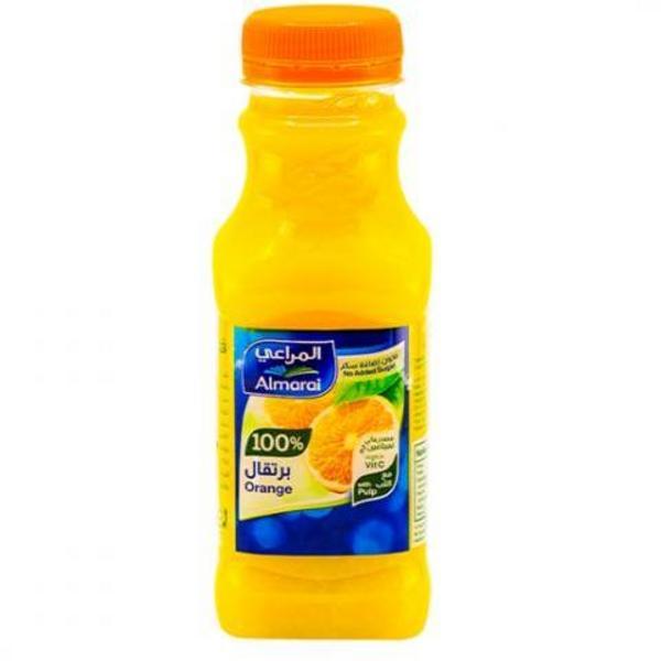 24 300 مللتر من عصير البرتقال مع اللب المراعي للمنازل جملة 24 300 Ml Of Fresh Orange Juice With Pulp Almarai For Home Jumla