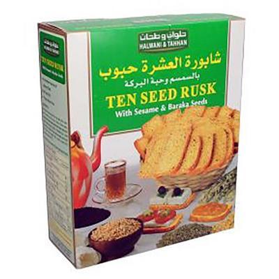 8 300 غرام من شابوره العشره حبوب بالسمسم وحبه البركه حلواني وطحان المورد جملة للمنازل جملة 8 300 Gm Of Ten Seed Rusk With Sesame Baraka Seeds Halwani Tahhan Jumla Home Supplier Jumla
