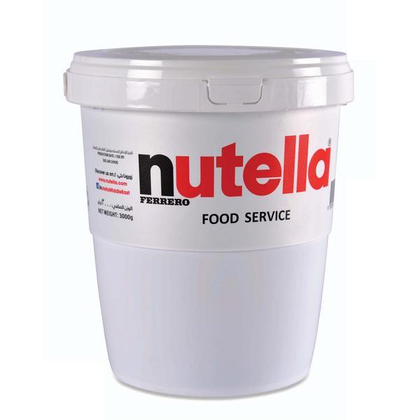 3 كيلو من شوكولاتة نوتيلا نوتيلا ماركة نوتيلا جملة 3 Kg Of Nutella Chocolate Nutella Nutella Brand Jumla